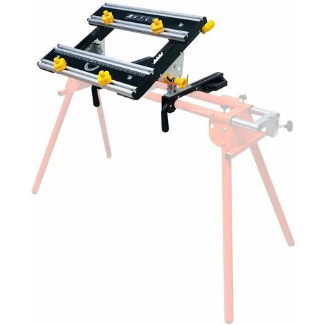 Forest Master Adjustable Tilting Workbench for Mitre Saw Stands