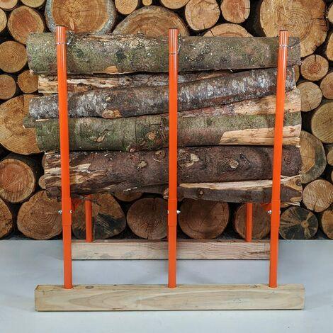 Forest Master Bulk Log Saw Horse 3 BLS-3H - Multi Wood Holder
