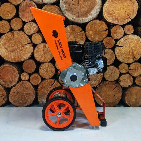 "main image of ""Forest Master Compact Garden Shredder Wood Chipper Mulcher FM6DD-MUL"""