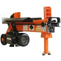 Forest Master FM10D 5 Ton electric log splitter hydraulic wood axe duo cut blade - See video