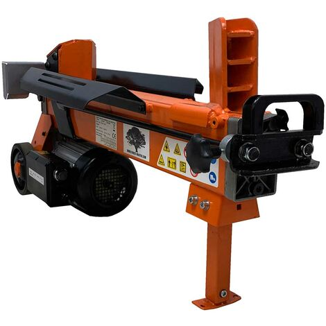 Forest Master FM10D 7 Ton electric log splitter hydraulic wood axe duo cut blade - See video