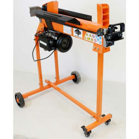 Forest Master FM10TW-7-TC Heavy Duty DuoCut 7 Ton Electric Log Splitter with Trolley Stand