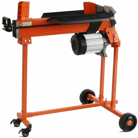 Forest Master FM10TW-TC Domestic 5 Ton Electric Log Splitter with Trolley Stand