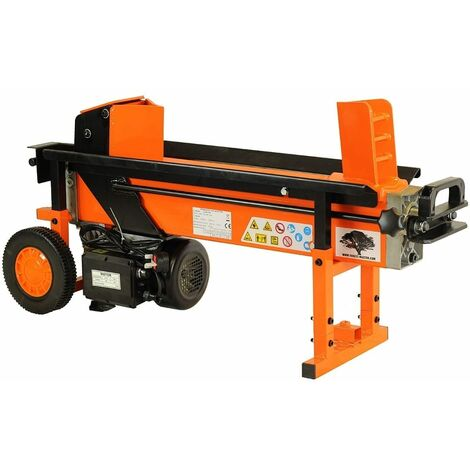 Forest Master FM16D 8-ton duo-cut heavy duty electric log splitter hyraulic wood axe Duoblade - See video