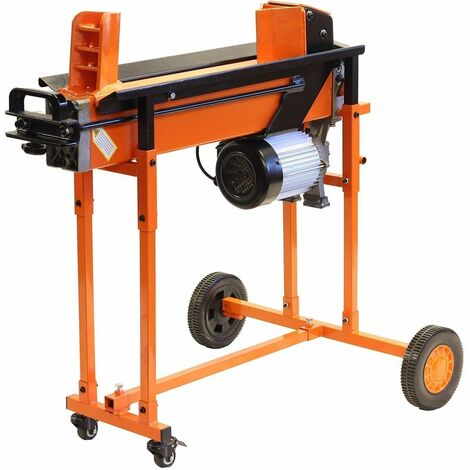 Forest Master FM16TW duo-cut electric log splitter hydraulic wood axe timber maul - See video