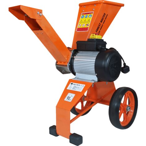 Forest Master FM4DDE Compact Electric Wood Chipper 4HP Direct Drive