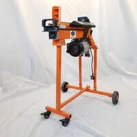 Forest Master FM5TW Fast lightweight 5 Ton electric hyraulic log splitter with castor stand