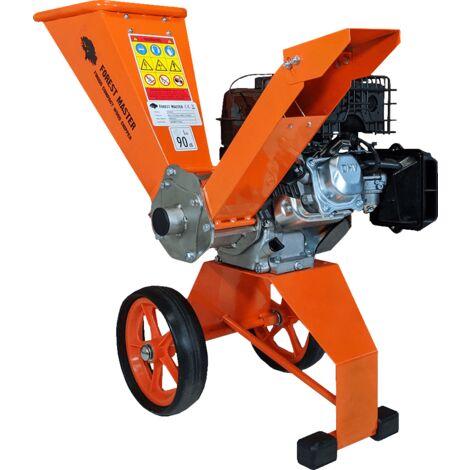 "main image of ""Forest Master FM6DD Compact 6HP Petrol Wood Chipper Garden Shredder"""