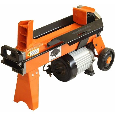 Forest Master FM8 5 Ton electric log splitter hydraulic timber maul - See video