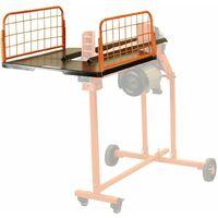 Forest Master FM8 splitter work bench log catcher tray
