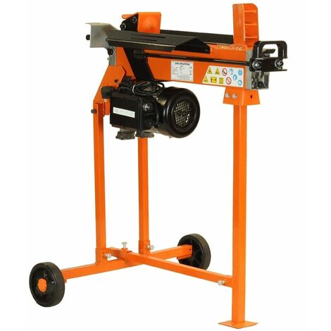 Forest Master FM8T-TC 5 Ton Electric Log Splitter with Stand - Small to Medium Wood Burners