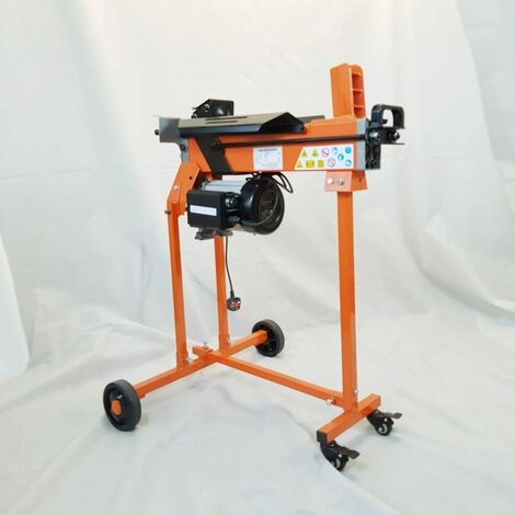 Forest Master FM8TW 5 Ton electric log splitter hydraulic castor stand - See video