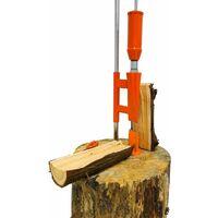 Forest Master Heavy Duty Smart Log Splitter manual cutter axe duo-cut kindling hatchet See video