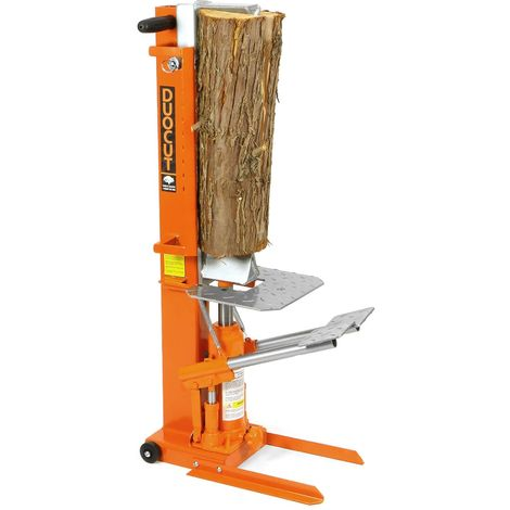 Forest Master© Holz-Spalter 10 T DuoCut manuell Typ DUO10T Hydraulik Holzspalter 10 Tonnen Brennholzspalter Holz Spalter