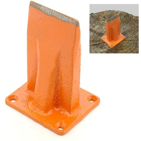 Forest Master© Holz-Spalter Aufsatz für Hack-Klotz Spalt-Klotz Brennholz Spalten