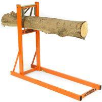 Forest Master© Metall Sägeständer Sägebock Sägehilfe Baum-Stämme Ø 50 - 250 mm   max. 4 m   max. 150 kg Brenn-Holz sägen