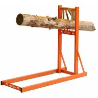 Forest Master quick fire wood log saw horse log holder chainsaw fast cutting