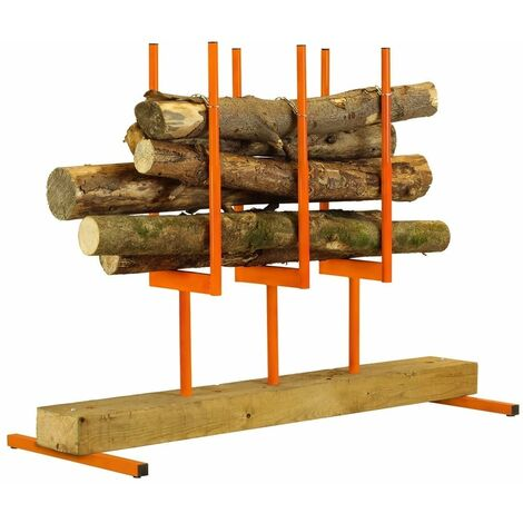 Forest Master wood log Saw horse log holder chainsaw multi log stand smart holder BLS3