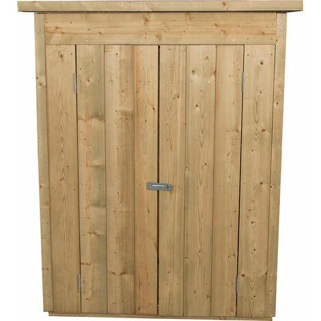 "main image of ""Forest Garden Pressure Treated Pent Wooden Garden Store"""