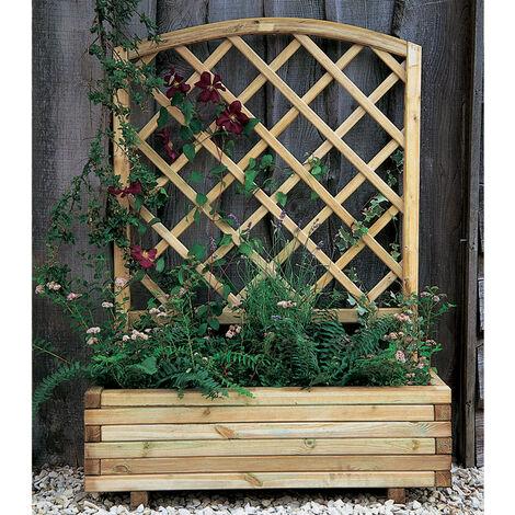 Forest Toulouse Wooden Garden Planter 3'3x1'4 (1.0x0.4m)