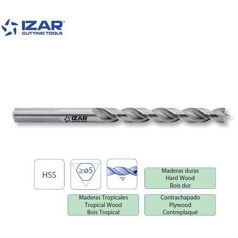 foret auto-centreur PRO bois Izar HSS de 3 à 10 mm