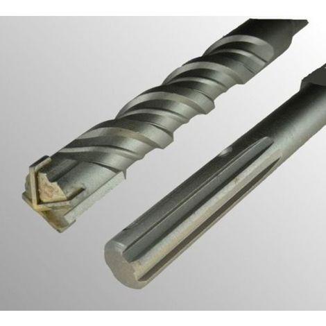 Foret béton sds max pour perforateur diamètre 20 mm