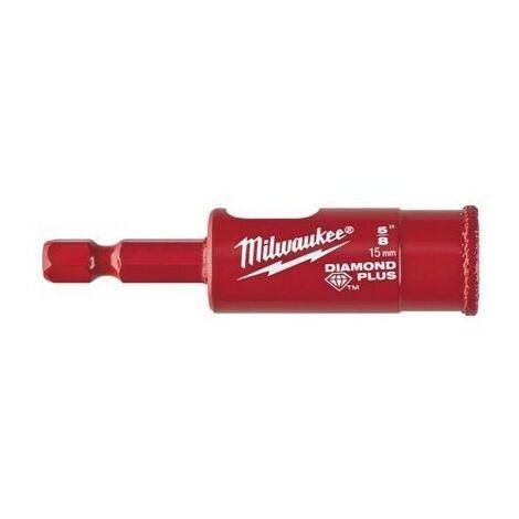 Foret de múltiples materiales Diamond Plus Milwaukee 15 mm 49560513