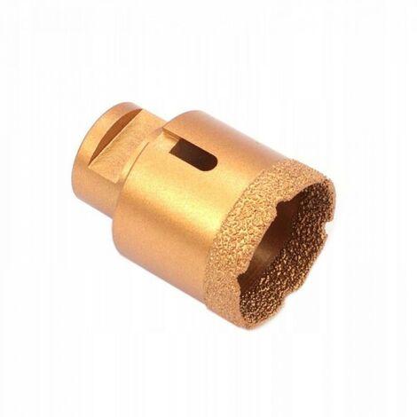 Foret diamant pour carrelage m14 scie cloche 45 mm