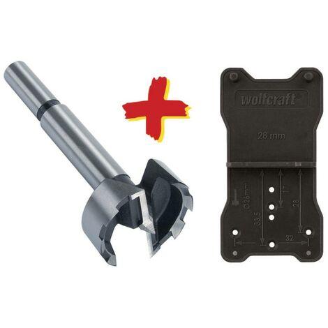 Foret Forstner Wolfcraft 8728000 35 mm Longueur 90 mm tige cylindrique 1 pc(s)