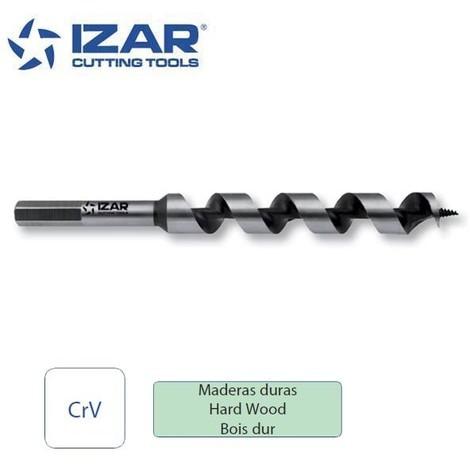 foret spirale bois Izar avec vis en pointe L. 230 mm de 6 à 32 mm