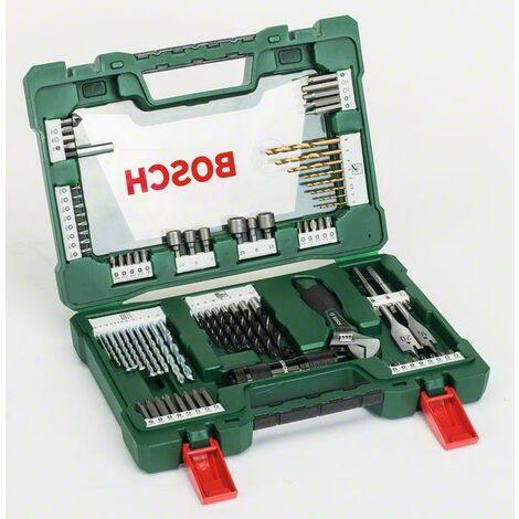 Foret universel TiN 83 pièces Bosch Accessories 2607017193 1 set C78339