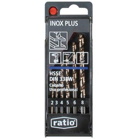 FORETS INOX. PLUS HSSCO SET 6 RATIO
