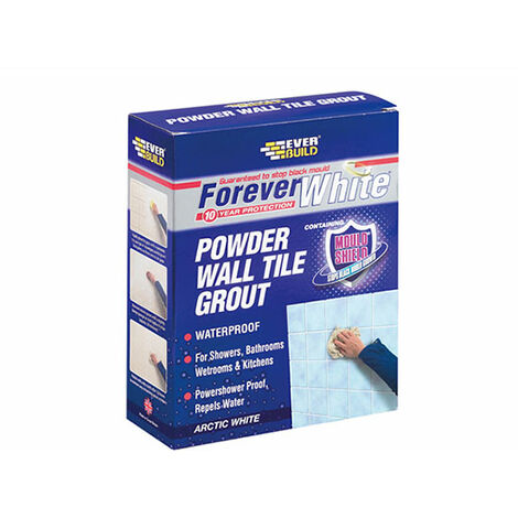 Forever White Powder Wall Tile Grout