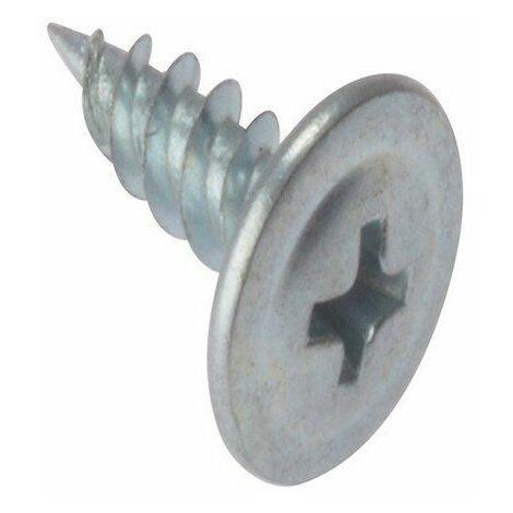 Forgefix DWSWH13 Vis à pointe autoforeuse pour plaque de plâtre Zingué