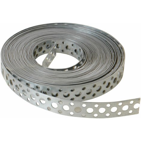 ForgeFix GB20 Builders Galvanised Fixing Band 20mm x 1.0 x 10m Box 1