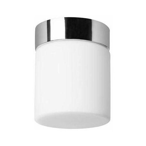 Forlight Petit - Bathroom LED Flush Ceiling Light Chrome 650lm 3000K IP44