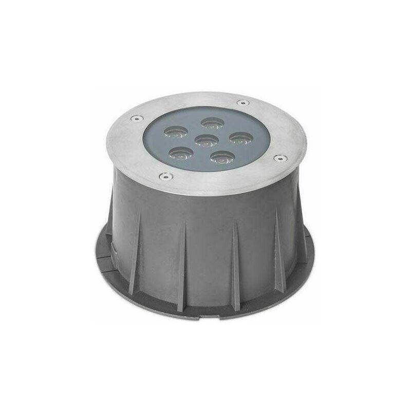 Image of Recessed garden floor RINGO LED 6 Bulbs