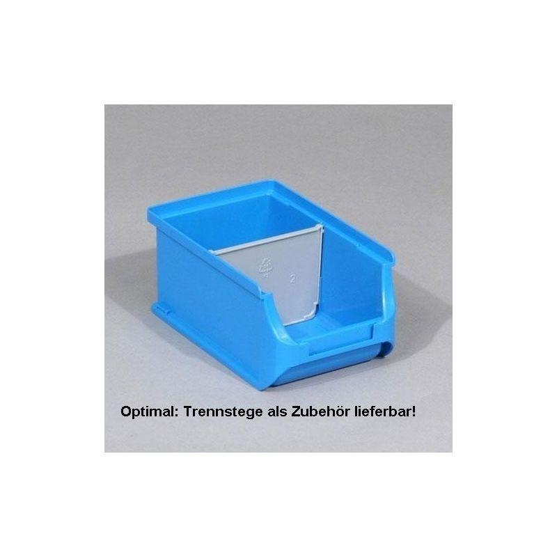 4St. f.Sichtbox Gr.2//2L. Trennsteg quer