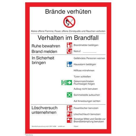FORMAT Brandschutzordnung Universal