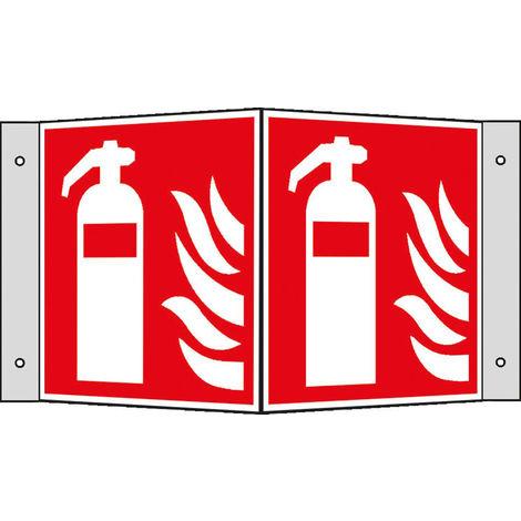 FORMAT Brandschutzschild Alu Feuerlöscher Wi.150x150