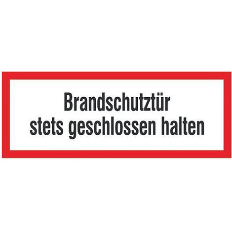 FORMAT Brandschutztür geschl. h.PVC Folie, selbstklebend