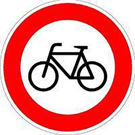 FORMAT VKZ.254 Ronde 600mm Verbot für Radfahrer