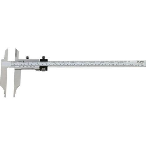 FORMAT WerkstattMessschieber mit Spitzen 1/20 500x150mm Fe.