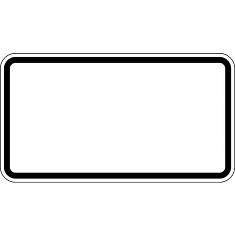 FORMAT ZZ.blanko 231x420mm Grund weiß - Rand schwarz