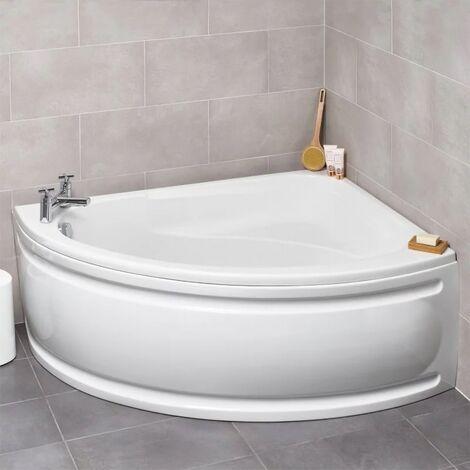 Formula 1500 x 1040 mm White Offset Corner RH Bath
