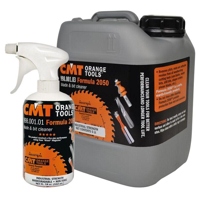 CMT Formula 2050  preparato per la pulizia di lame 998 punte e frese Cod.