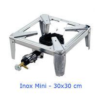 Fornello MiniDrago In Acciaio Inox Gpl Cm 30x30x13H Omologato Pelati Pomodori