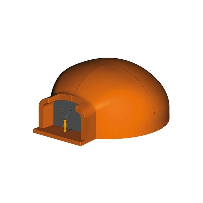 Porta per forno a legna cm in ghisa per pizza e forno