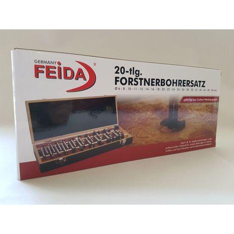 Forstnerbohrer Satz 20 tlg. Ø 6 - 50 mm // 81202