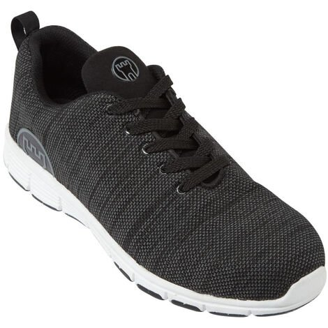 Fort Elite Safety Work Trainer Shoes Grey (Sizes 5-13)